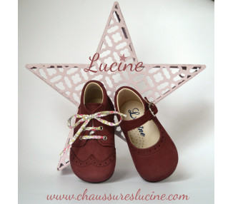 Alice - nubuck PRUNE