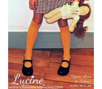 Louise la Costaud - cuir BLANC