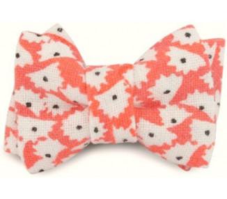 Mini noeud double - Orange
