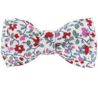 Noeud - Fleuri rose
