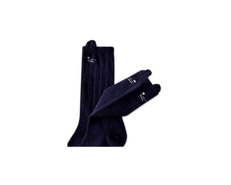 Chaussettes hautes SOURIS - MARINE