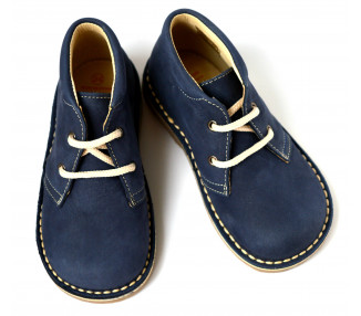 Gaspard PLUS lacets - nubuck NAVY
