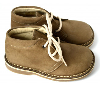 Gaspard PLUS lacets - nubuck TAUPE