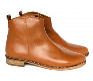 Boots - cuir CAMEL