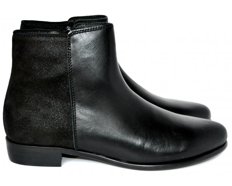 Boots - cuir NOIR/ IRISE noir