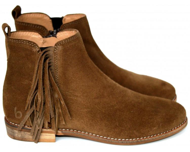 Boots - INDIENNES Marron
