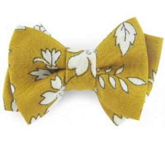 Mini noeud double - Capel Moutarde