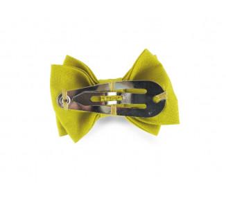 Mini noeud double - Moutarde