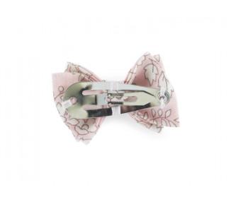Mini noeud double - CAPEL Rose NUDE