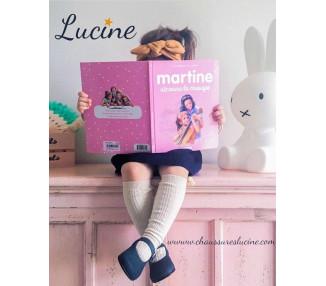 Léonie - NUBUCK MARINE/GRIS