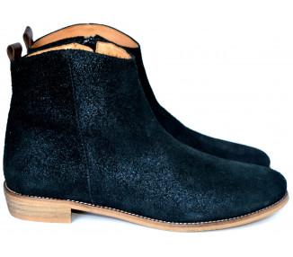 Boots - nubuck NOIR IRISE