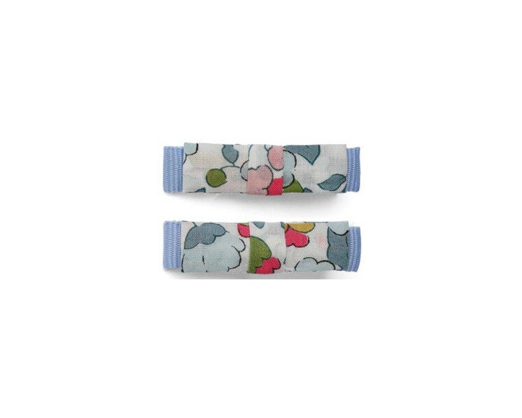 Barrettes mini kimono – Liberty Betsy (paires) CROCODILE