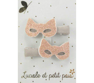 Masques chat – Rose (paires) CROCODILES