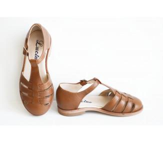 Céleste - sandalettes CAMEL