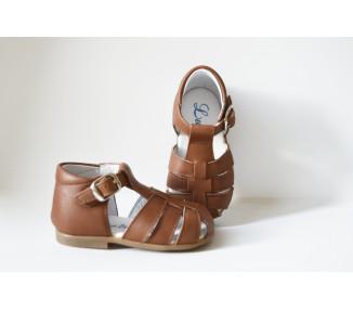 Nu-pieds SOUPLES - Azylis adaptées 1ers pas et après - CAMEL