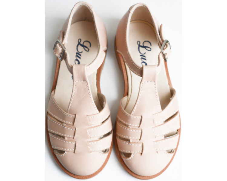 Céleste - sandalettes ROSE NUDE