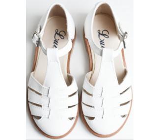 Céleste - sandalettes BLANC