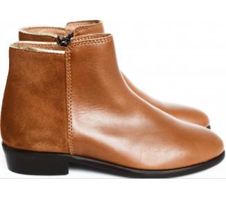 Boots RESISTANTES- Bimatière CAMEL