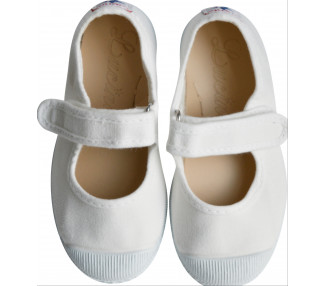 Babies velcro - BLANC