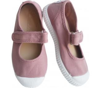 Babies velcro - VIEUX ROSE
