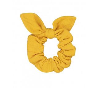Chouchou - double gaze moutarde