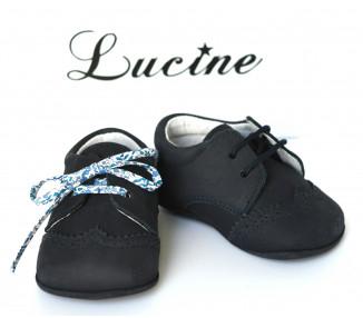 Mini-Adonis - Nubuck bleu MARINE