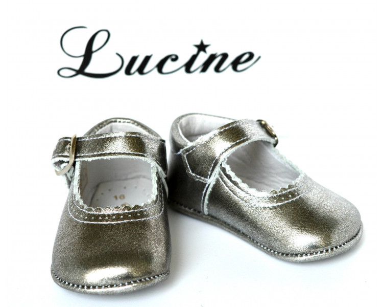 Mini-Alice - cuir ARGENTE