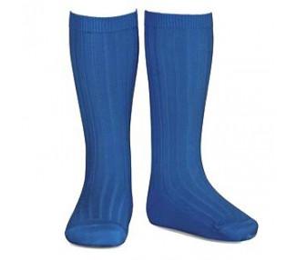 Bleu ROYAL - Chaussettes hautes